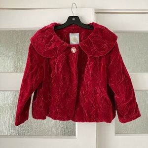 Tracy Reese cropped jacket